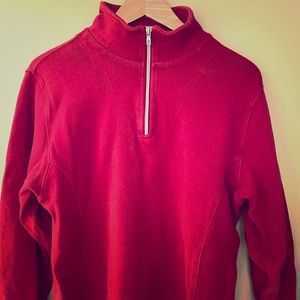 Red tommy Bahamas pullover size l
